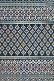Tajlandzki sarongu wzór Zdjęcia Stock