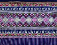 Tajlandzki sarongu wzór Fotografia Stock