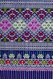 Tajlandzki sarongu wzór Zdjęcia Royalty Free