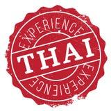 Tajlandzki stemplowy gumowy grunge Obrazy Stock