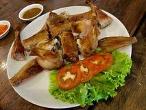 Tajlandzki styl piec na grillu kurczak Obrazy Stock