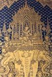 Tajlandzki stylowy malowidło ścienne obraz royalty free