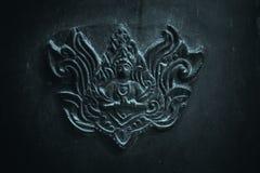 Tajlandzki stylowy metal sztuki wzór Zdjęcia Royalty Free