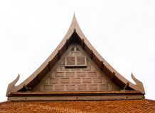 Tajlandzki stylu dach dla domu Zdjęcia Stock