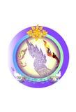 tajlandzki sztuka projekt Obraz Royalty Free
