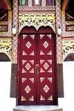 tajlandzki sztuki drzwi Obraz Royalty Free