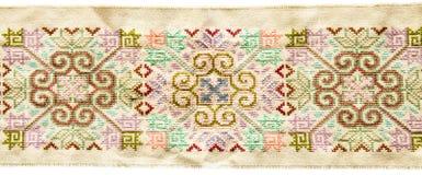 Tajlandzki sztuki tkaniny wzór Zdjęcia Stock