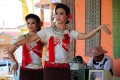 Tajlandzki taniec zdjęcia royalty free