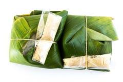 Tajlandzki tradycyjny deserowy pakunek Fotografia Stock