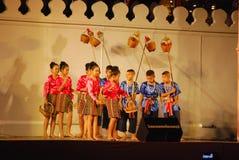 Tajlandzki tradycyjny taniec Zdjęcia Stock