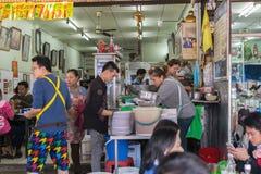 Tajlandzki uliczny jedzenie, kluski Fotografia Stock