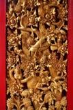 Tajlandzki woodcraft Zdjęcie Stock