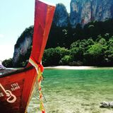 Tajlandzki wyspy życie w słońcu zdjęcia stock