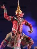 Tajlandzki występ obrazy stock