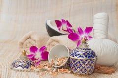Tajlandzki zdrój i masaż, zdrowy i piękny Fotografia Royalty Free