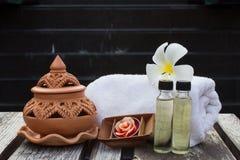 Tajlandzki zdroju aromatherapy obrazy royalty free