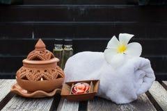 Tajlandzki zdroju aromatherapy obrazy stock