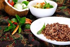 Tajlandzki Zielony curry z kurczaka naczyniem Zdjęcie Stock