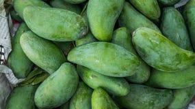 Tajlandzki Zielony mango Obrazy Royalty Free