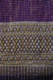 Tajlandzkich tkanina wzorów Tajlandzka grafika Zdjęcie Stock