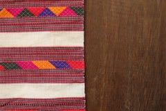 Tajlandzkich tkanina wzorów Tajlandzka grafika zdjęcie royalty free