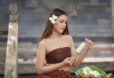 Tajlandzkie kobiety Asia kobiety Zdjęcie Royalty Free