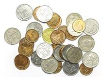 Tajlandzkie monety Obrazy Stock