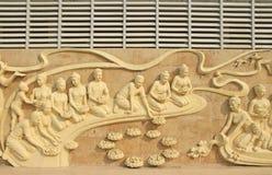 Tajlandzkie styl rzeźby Zdjęcia Royalty Free