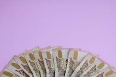 Tajlandzkiego bahta banknoty Obrazy Stock