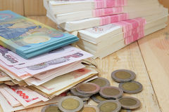 Tajlandzkiego bahta pieniądze Obraz Royalty Free