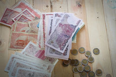 Tajlandzkiego bahta pieniądze Zdjęcie Royalty Free