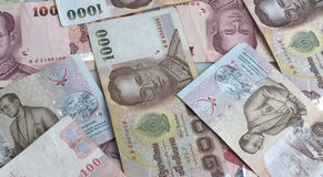 Tajlandzkiego bahta waluta Fotografia Stock