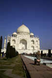Tajmahal. One of the most beautiful monument and one of the great wonders of the world Royalty Free Stock Photo