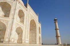 Tajmahal, historische plaats in India Stock Afbeelding