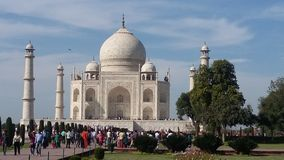 Tajmahal i India Royaltyfri Foto