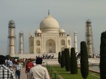 Tajmahal. Important Tourism place in delhi Royalty Free Stock Photo