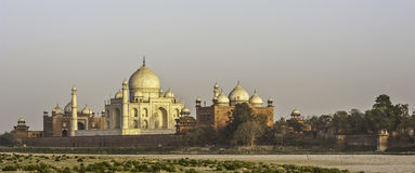 The Tajmahal of India in the evening light Royalty Free Stock Images
