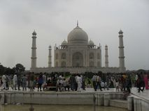 THe Taj Mahal Front stock photos