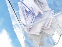 Tajnego głosowania pudełko Zdjęcia Stock