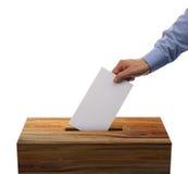 Tajnego głosowania pudełko Fotografia Stock