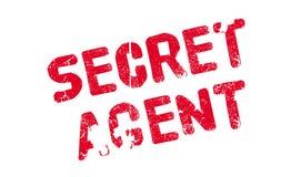 Tajny Agent pieczątka ilustracja wektor