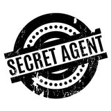 Tajny Agent pieczątka Fotografia Royalty Free