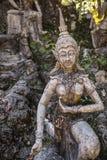 Tajny Buddha ogród w Samui - statua Zdjęcie Royalty Free