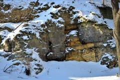 Tajny wejście w ścianie Fotografia Stock