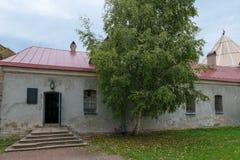 Tajny więzienie W Oreshek fortecy Fotografia Royalty Free