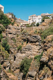 The Tajo De Ronda Is A Gorge Carved By The Royalty Free Stock Photo