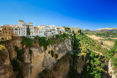 The Tajo De Ronda Is A Gorge Carved By The Guadalevin River, On Royalty Free Stock Photography