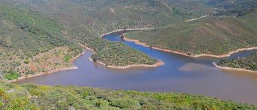 Tajo river. Royalty Free Stock Images