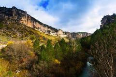 Tajo river in autumn Stock Photos
