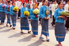 tajska kobieta Zdjęcia Royalty Free